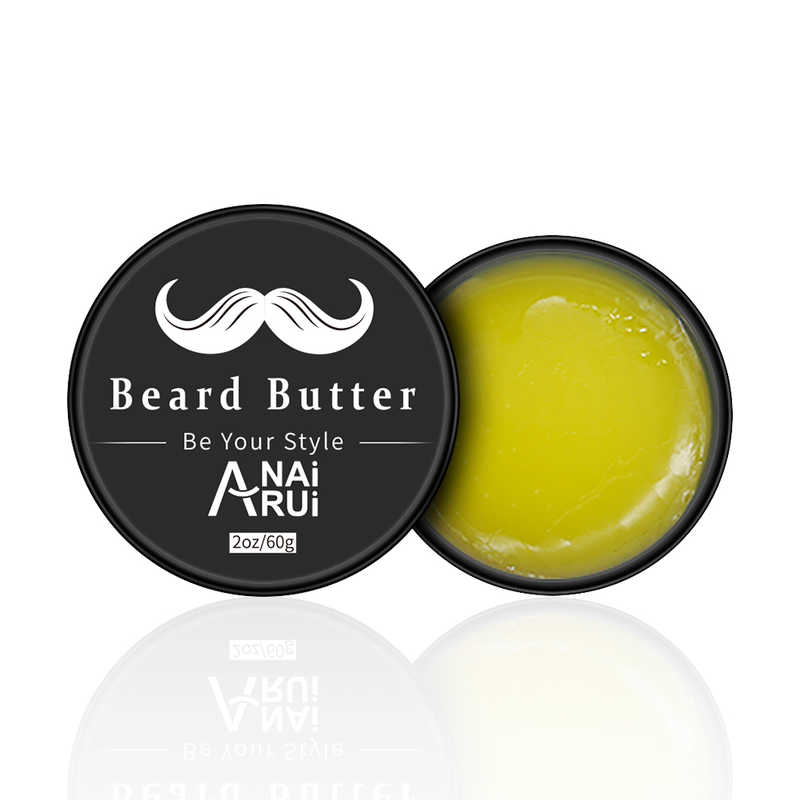 Natural and Organic Ingredients Styling and Hold Beard Wax For Men Grooming Beard Butter