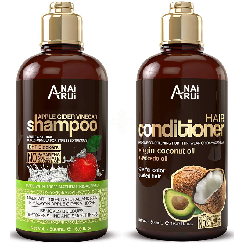 Apple Cider Vinegar Shampoo & Hair Conditioner Set
