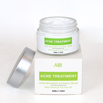 Private Label Skin Cystic Acne Treatment Cream and Acne Scar Remover Natural Acne Spot Pimple Cream