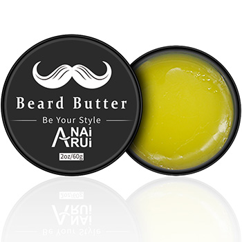 Private label Pure Organic Beard Care Smoothing Beard Balm Beard Butter