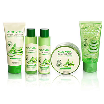 aloe vera gel set skin care manufacturer